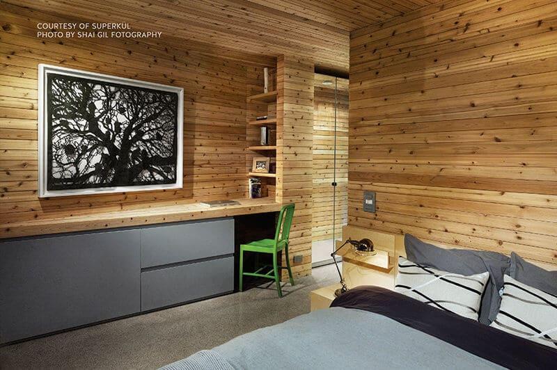 Cedar Siding Example