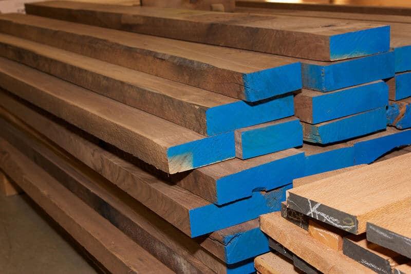 Hardwood Rough Lumber