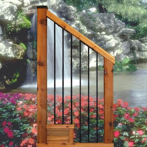 Baluster- Napoletani Stair Rail Panel
