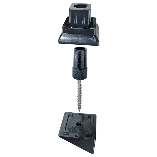 Square Surface Mount Stair Adaptor
