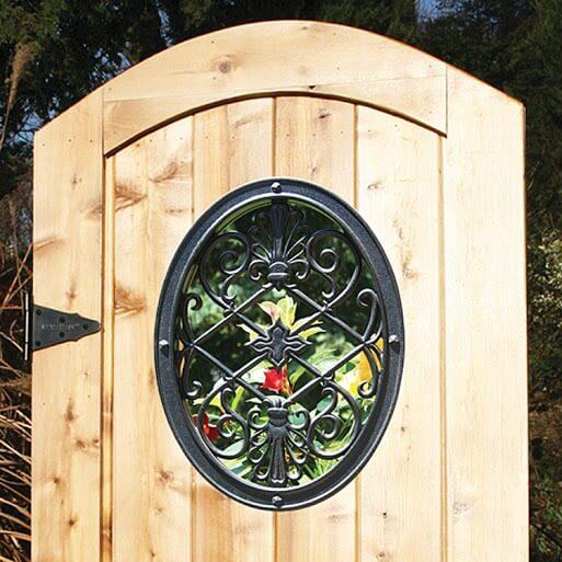 Gate Nuvo- Decorative Gate Access- Oval