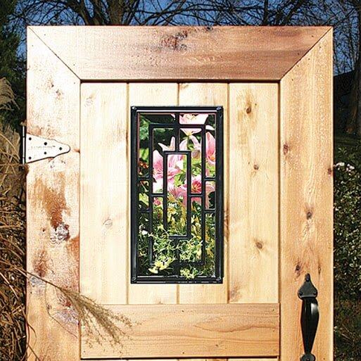 Gate Nuvo- Decorative Gate Access- Rectangle 9x17
