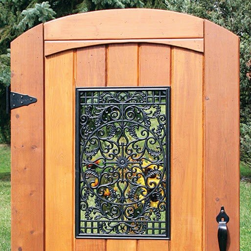 "Decorative Gate Access- Rectangular 15""x24"""