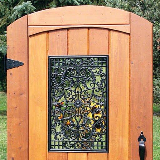 "Decorative Gate Access- Rectangular 15""x24"""