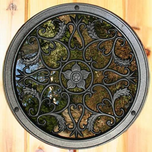 Gate Nuvo- Decorative Gate Access- Round