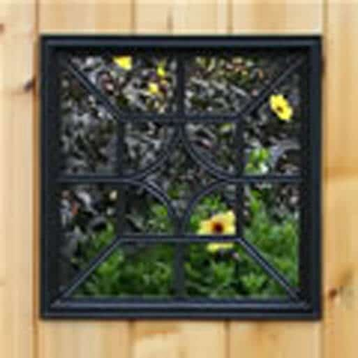Gate Nuvo- Decorative Gate Access- Square