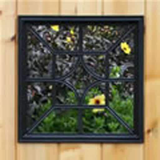 Gate Nuvo- Decorative Gate Access- Square