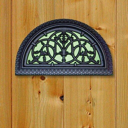 Gate Nuvo- Decorative Gate Insert- Half Round