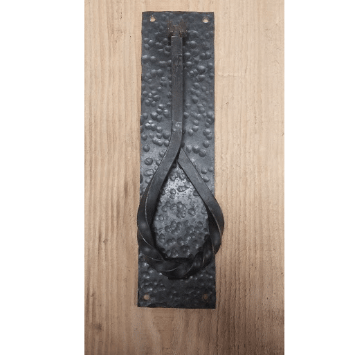 Hand Forged- LargeTwisted Door Knocker