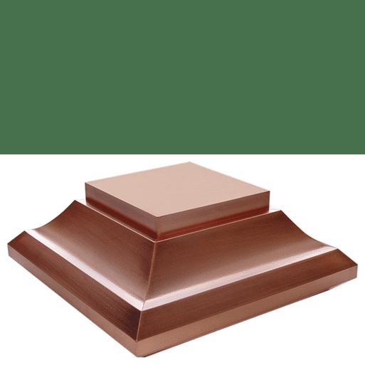 Post Cap- Copper Solar Adaptor
