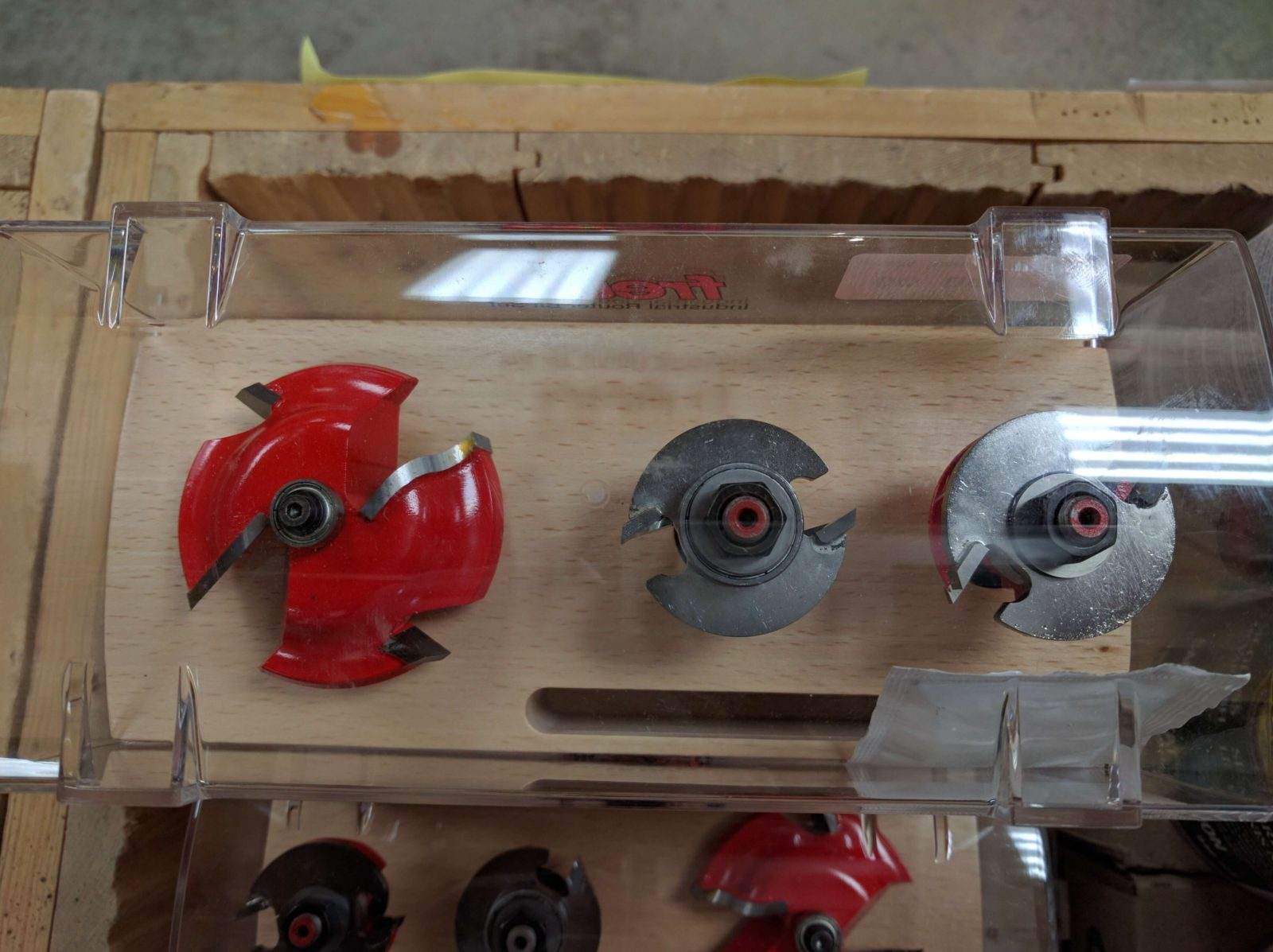 Freud Raised Panel Router Bit Set ($88)