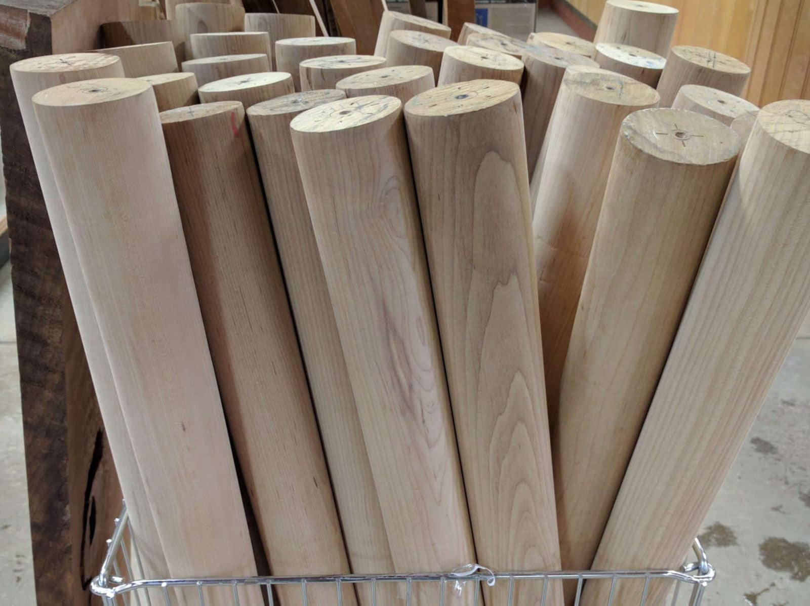 Torrified Maple Bat Blanks ($25/pc)