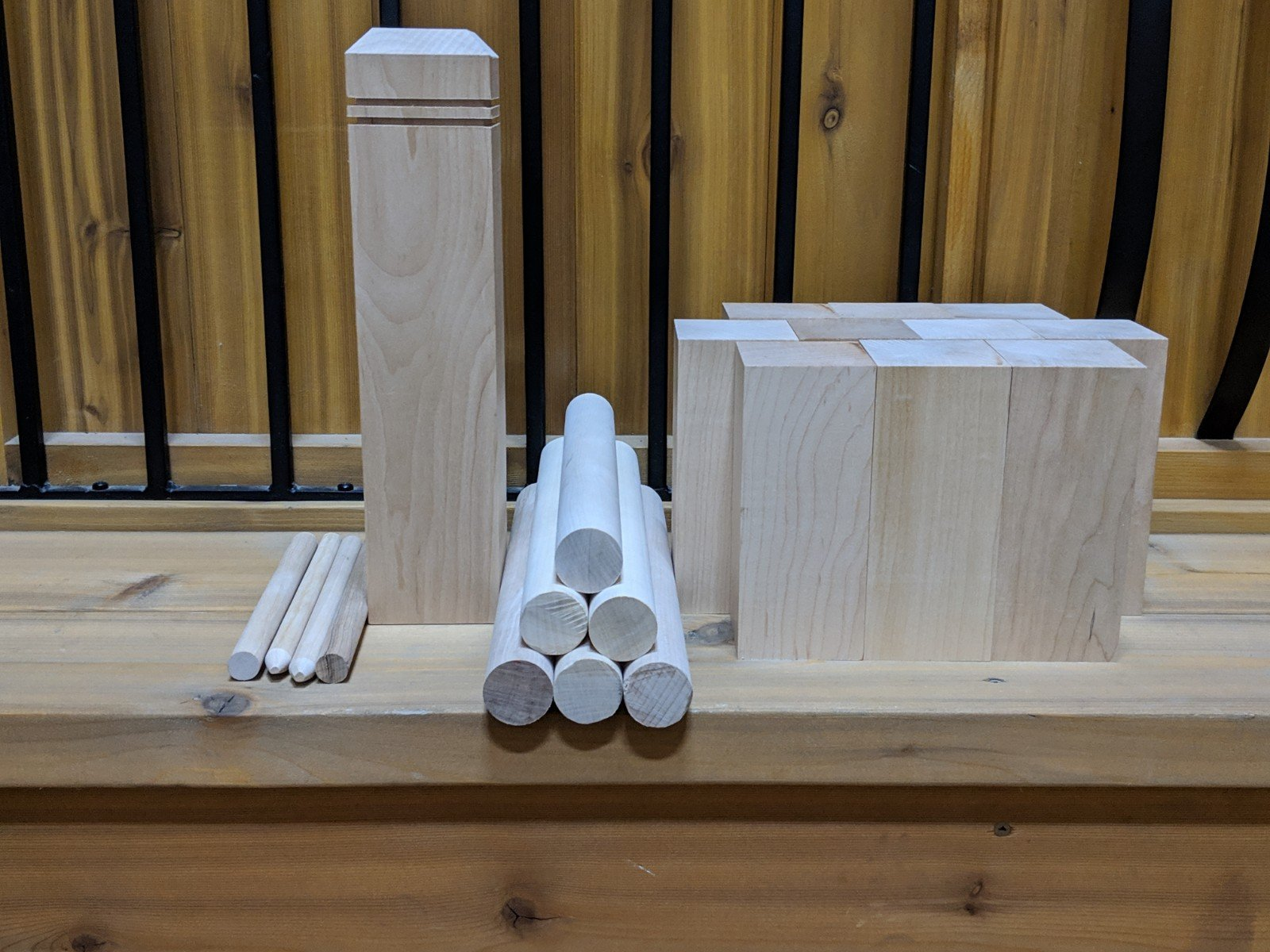 KUBB Lawn Game $59.90/set