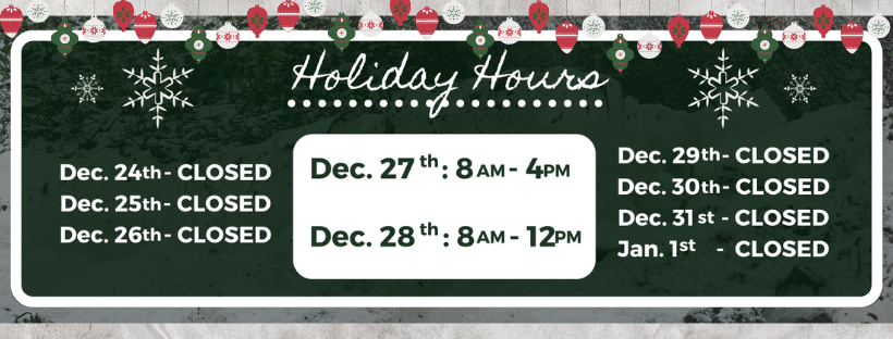 Christmas Hours Email PNG